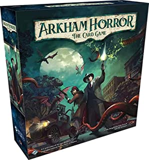Arkham Horror The Card Game Revised Core Set | Horror Game | Mystery Game | Cooperative Card Games for Adults and Teens Ag...