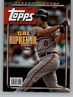 1991 Topps Stadium Club Missing Foil #430 Cal Ripken Jr Baltimore Orioles Card