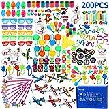 nicknack Juguetes de Fiesta a Granel,200 Cumpleaños Party Favours Llenadores, piñata de cumpleaños Llenadores, Aula Granel Juego Premios, Regalos para Infantiles Niños Y Niñas