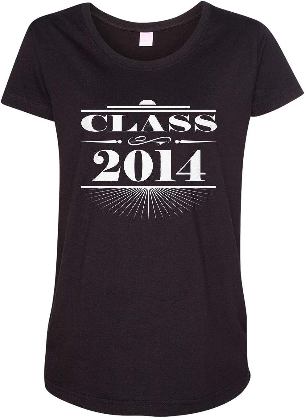 HARD EDGE DESIGN Women's Art Deco Class of 2014 T-Shirt
