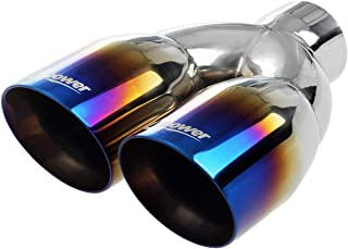 Upower Exhaust Tips Tailpipe Dual 2.5