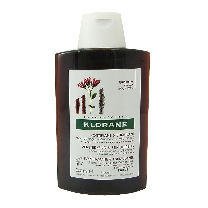 合意コスト病なKlorane Quinine Fortifying Shampoo 200ml [並行輸入品]