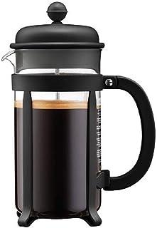 Bodum 1908-01 java kaffeberedare, 8 koppar, 1 l, flera lager, svart, 10,6 x 16,3 x 24,5 cm
