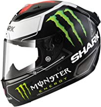 Shark Unisex-Adult Full Face Race-R Pro Helmet (Lorenzo, Large)