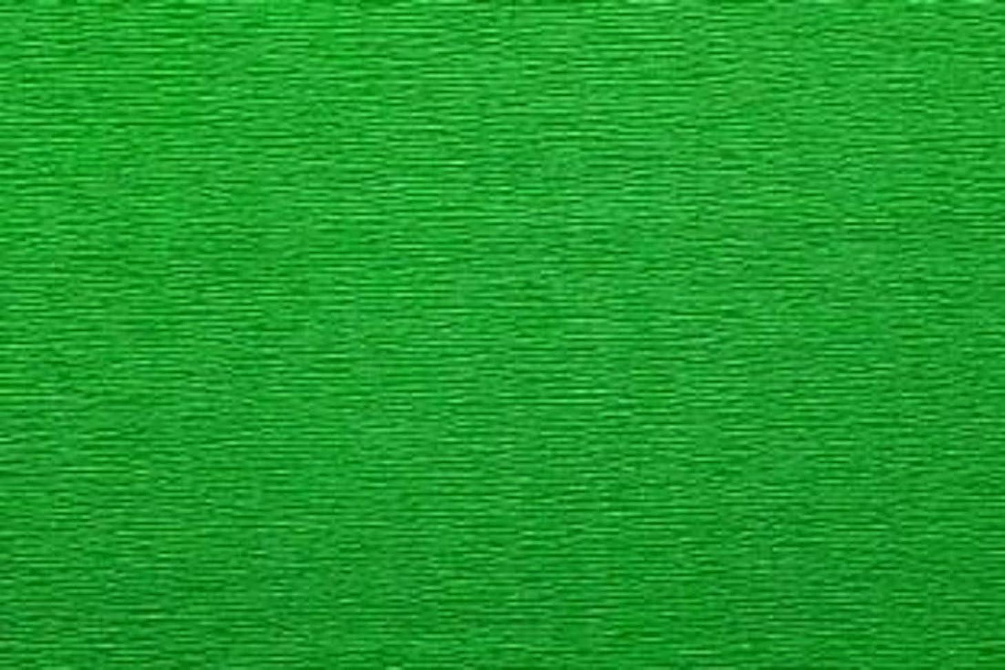 Crepe Paper Roll, Premium Italian Extra Fine 60 g, 13.3 sqft, Field Green