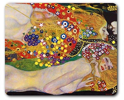 1art1 Gustav Klimt - Serpenti d'Acqua II, 1904–1907 Tappetino per Mouse (23 x 19cm)