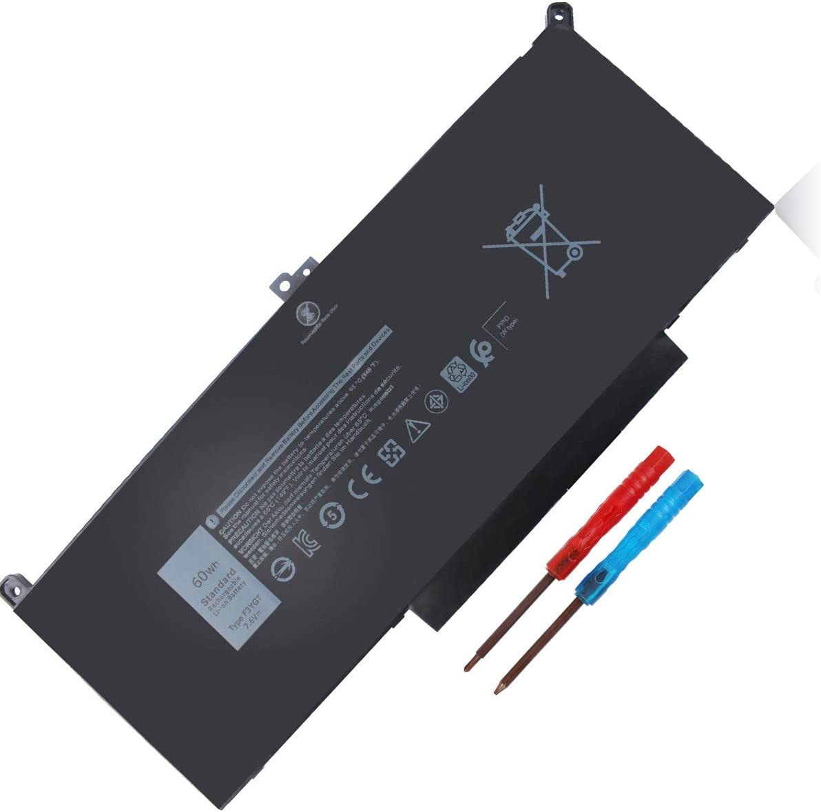F3YGT 7480 DM3WC supreme NEW before selling Laptop Battery 74 with Latitude Compatible Dell