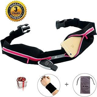 ABETER Best Running Belt Pocket Belt Waist Pack Pouch...