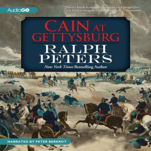 Cain at Gettysburg audiobook cover art