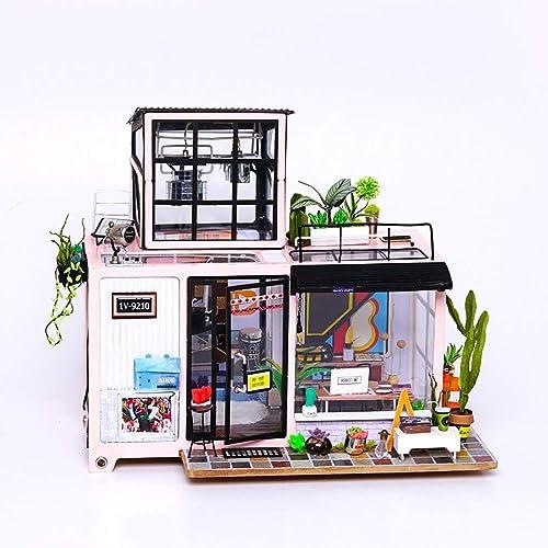 mejor moda XAJ Hecho a a a Mano de Madera DIY Art Art Cottage Creativo Juguete Creativo Tridimensional Puzzle Escena en Miniatura Decoración Bellamente Decorado Habitación Modelo Regalo  venta con descuento
