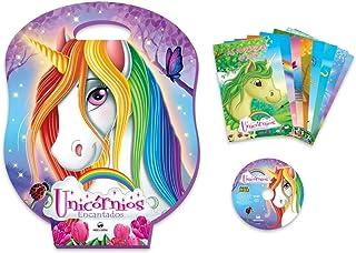 b7df30b82 Livro Infantil Com Cd Ou Dvd Unicornios 8volumes + Jogos - 01 Unidade Vale  das Letras