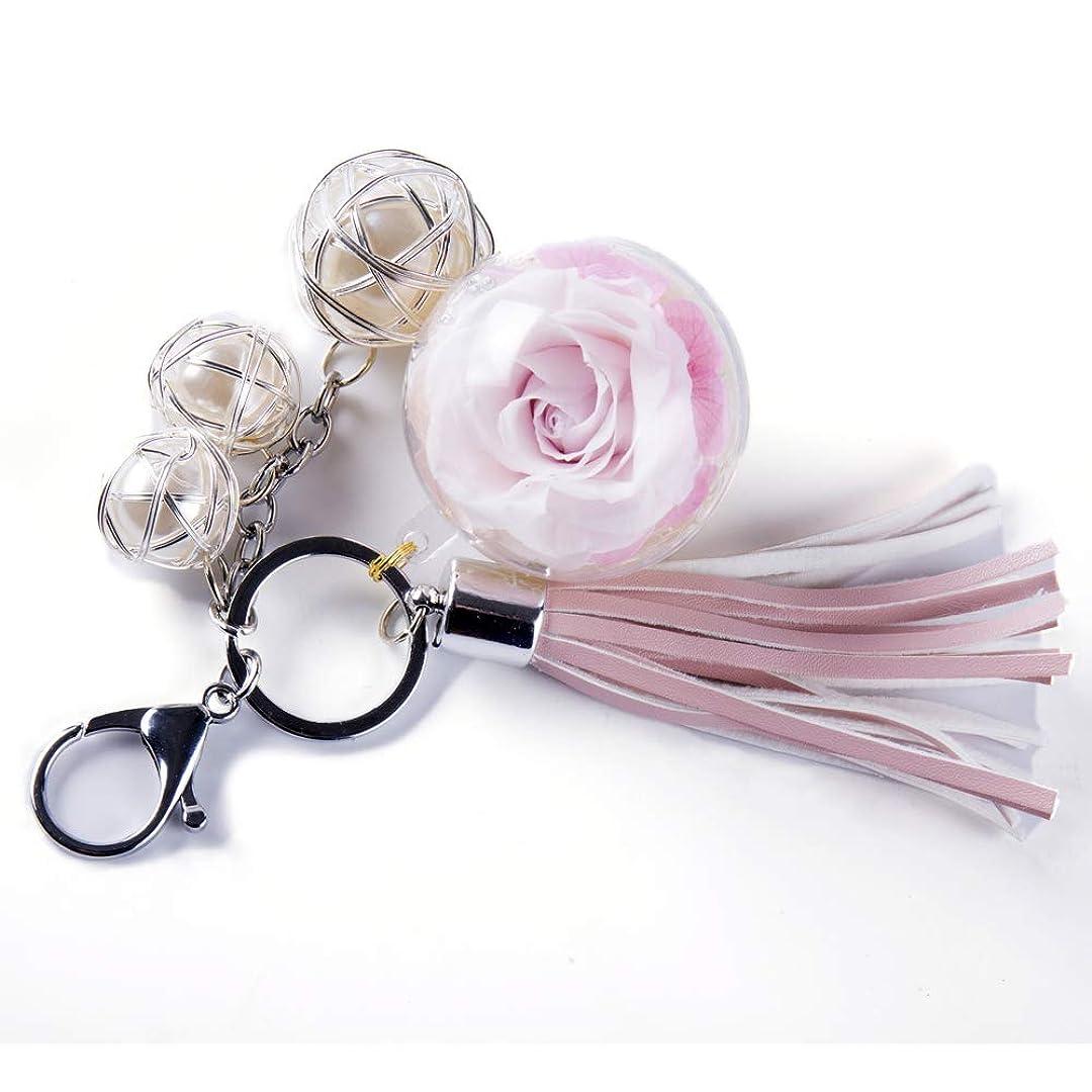からに変化する欲望オーケストラNW 1776手作り花Never Fadeキーチェーン、ぬいぐるみボール、Eternal花完璧な服とバッグアクセサリーギフトforバレンタインの日、母の日、クリスマス、記念日、誕生日 ピンク