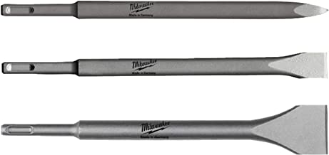 Milwaukee 4932430001 3 Piece SDS Plus Chisel Drill Bit Set