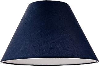 Pantalla Coolie de algodón azul medianoche de 12