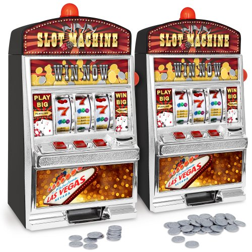 GreatGadgets 1890 Casino Slot Machine – Einarmiger Bandit (38 cm) - 5