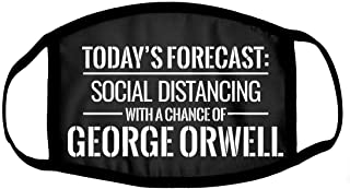 Today's Forecast: George Orwell Costume Rave Mask Black