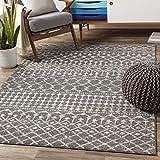 Artistic Weavers Elsie Area Rug, 7'10' x 10'3', Medium Gray