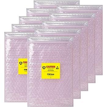 BOB1211AS 12 x 11 1//2 Aviditi Anti-Static Bubble Pouches Pack of 250
