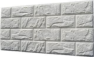 Etiqueta de Pared Ladrillo 3D Autoadhesiva Panel Calcomanía