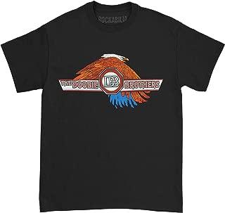 Doobie Brothers Men's Eagle 2014 Tour T-Shirt Black