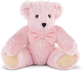 Vermont Teddy Bear Floppy Bear - Pink Teddy Bear, 15 Inch, Pink