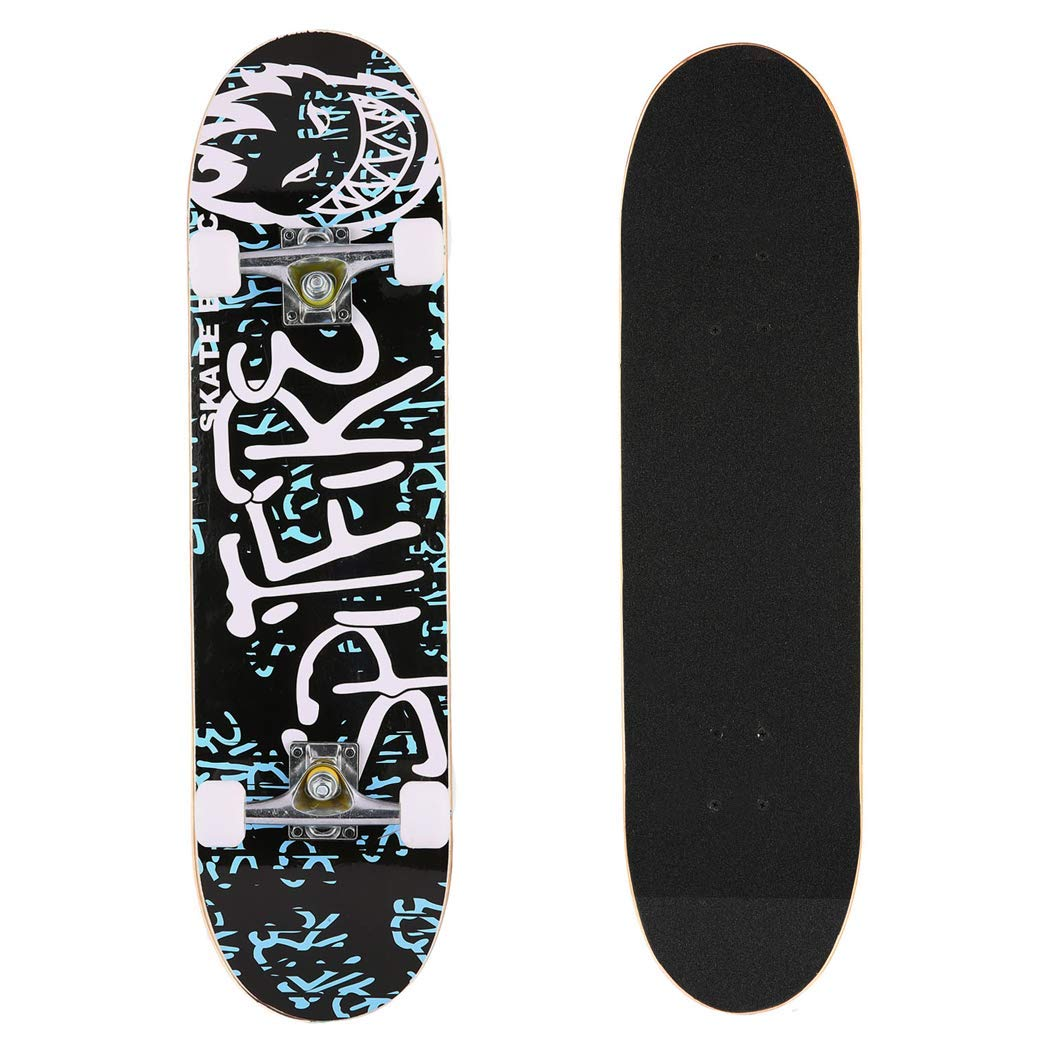 Complete Skateboard Double Concave Beginners