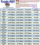 Chien Sweat à Capuche Chien vêtements Combinaison Polaire Pull Chaud Veste en Coton 4 Jambes Sweat Shirt pour Petit Chien Moyen Grand (Carmin,S)