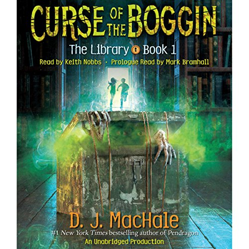 Curse of the Boggin audiobook cover art