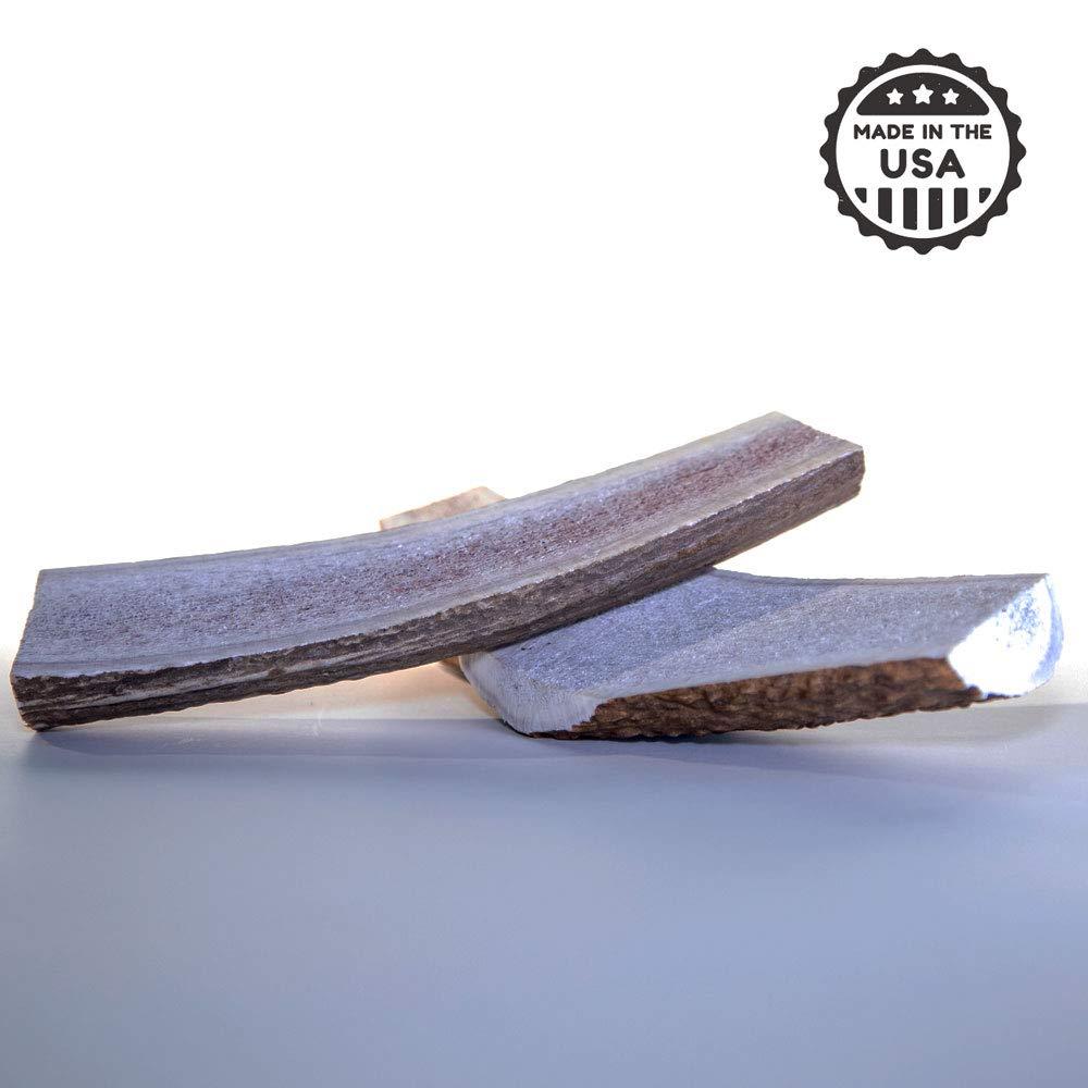 Large Split Antler Chew Less Aggressive