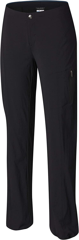 Columbia Women's Just Right Straight Leg Pant Pants, Black, 18