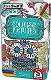 Schmidt Spiele 51403 51403-Creative Kit, Farben und Bildern, bunt -