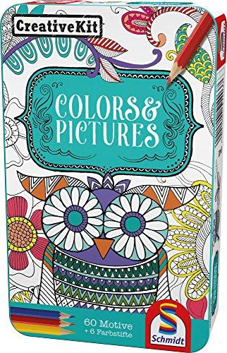 Schmidt Spiele 51403 51403-Creative Kit, Farben und Bildern, bunt
