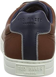 تيد بيكر حذاء سنيكرز للرجال، مقاس 44 EU ، لون بني