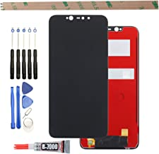 """YHX-US LCD Display Replacement for BLU Vivo XI+ XL Plus 6.2"""" Touch Screen Digitizer Assembly + A Set of Tools (Black)"""