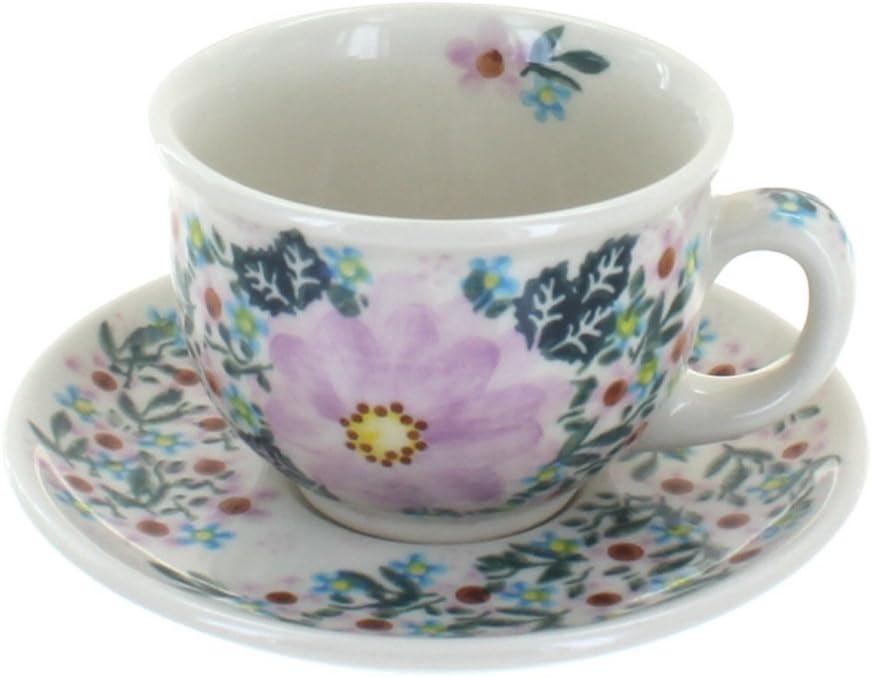 Blue Rose Polish Bombing free shipping Pottery Cup Superlatite Lilac Garden Saucer
