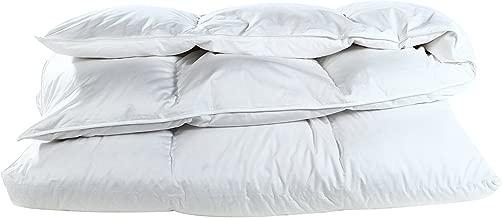 Cloud Nine Comforts Super Nova Comforter, Twin, Polish White