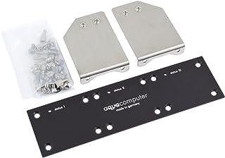 Aquacomputer Mounting Plate for PowerAdjust 2/3 and Farbwerk, Black
