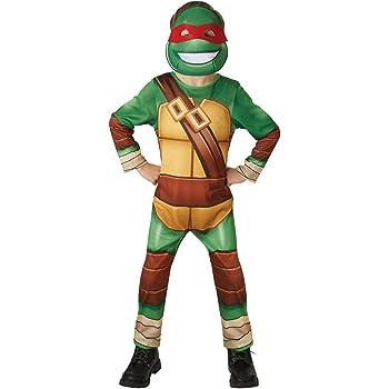 Rubiess – Disfraz infantil oficial de las Tortugas Ninja: Amazon ...