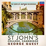 The Complete Argo Recordings von Choir of St John's College, Cambridge, George Guest