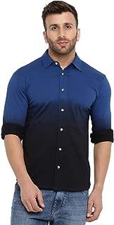 GRITSTONES Cotton Tie Dye Full Sleeves Shirt GSFSOMBSHRT2227_P
