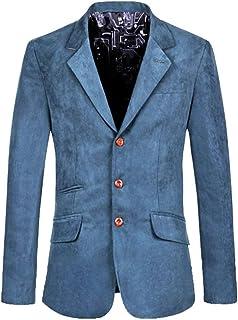 Men's Autumn Business Blazer Slim Fit Blazer Lapel Collar Comfortable Sizes Button Jacket Leisure Men's Short Coat Clothing