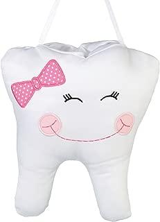 Lillian Rose Tooth Pillow, Pink Cap, 6.5