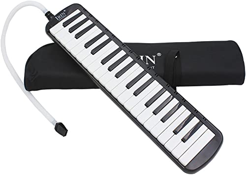 Generic Imported 37 Key Melodica Musical Instrument With Carry Bag Black