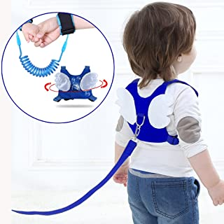 (2 kit)Anti Lost Wrist Link 2 meters Wrist Leash for Kids & Toddlers Child Safety Wristband (Blue)
