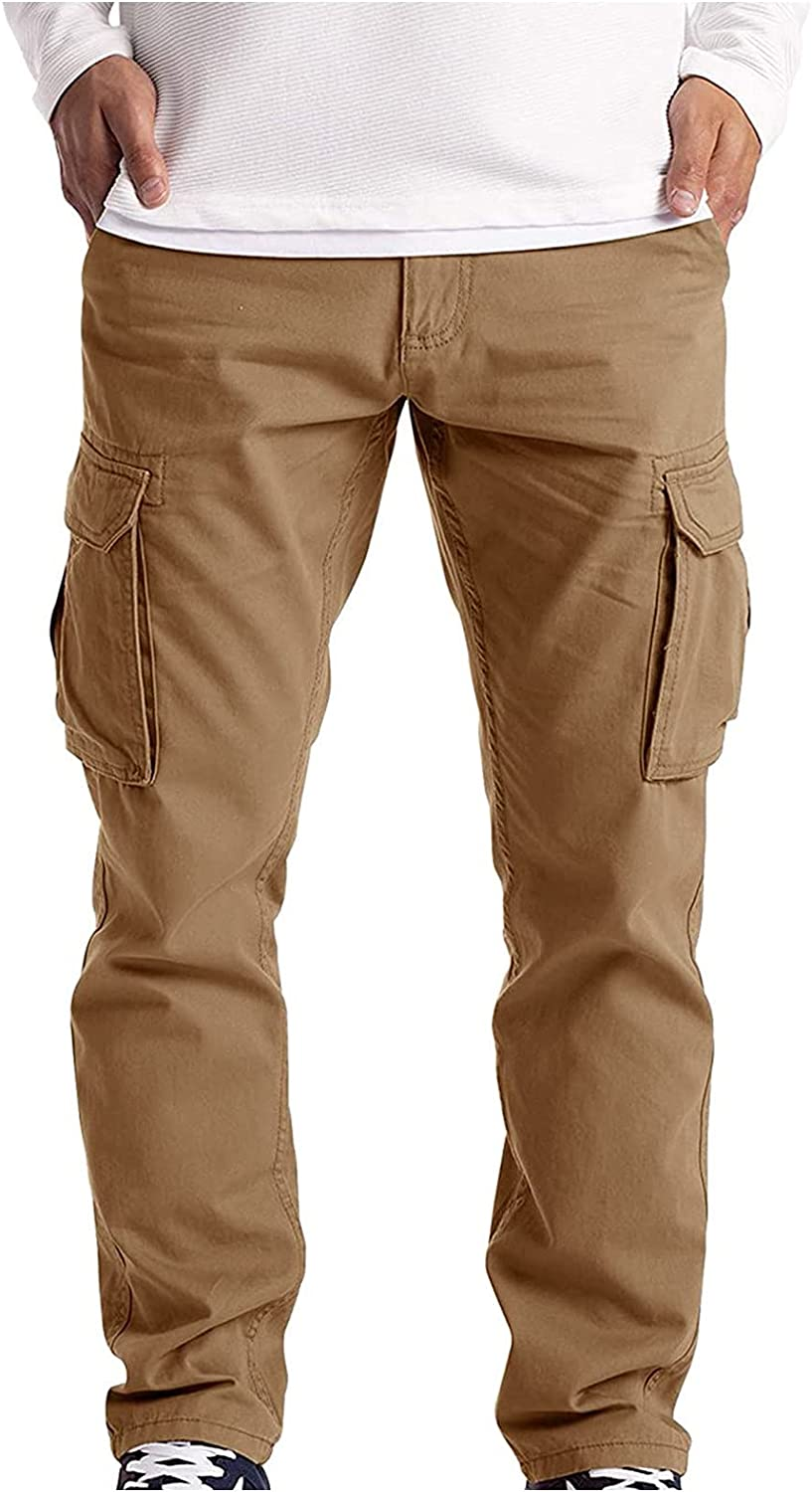 2021 Autumn Animer and price revision Men's Summer Multi-Pocket Over Casual Tampa Mall Pants Straight