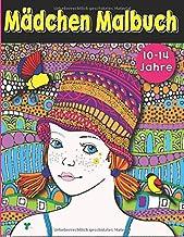 Mädchen Malbuch:: Malbuch speziell für Teenager Mädchen (von 10 bis 14).Beschäftigungsbuch & Zentangle Ausmalbuch mit traumhaften  Motiven. Ideales ... für kreative Entfaltung. (German Edition)