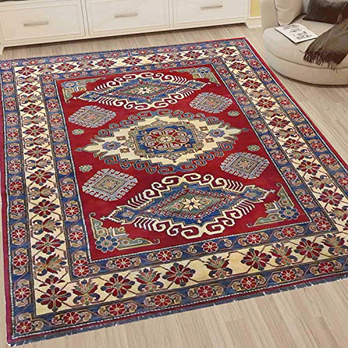 Trend Living 4 U GmbH Teppich Wohnzimmer Kurzflor Kazak B-B-24 179X272cm
