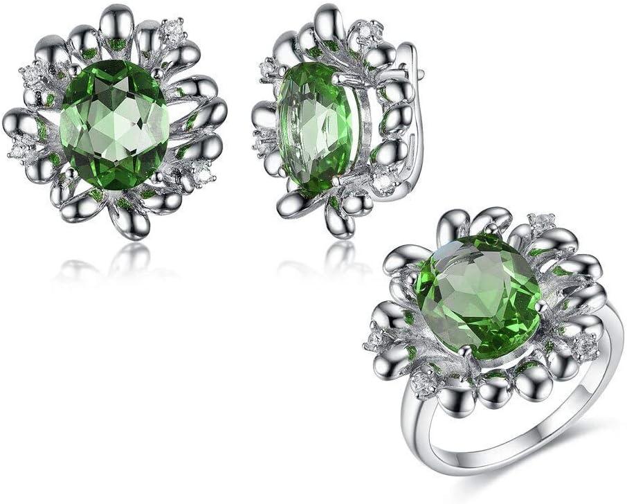 Bansriracha Jewelry Color Change Sterling zultanite Max 71% OFF Set Max 71% OFF
