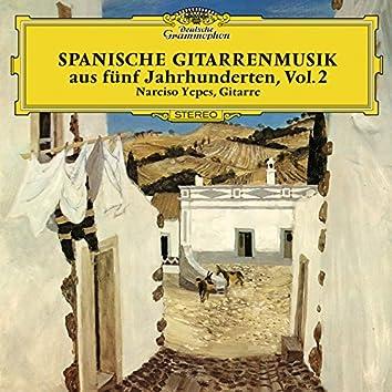 Spanish Guitar Music Of Five Centuries (Vol. 2)