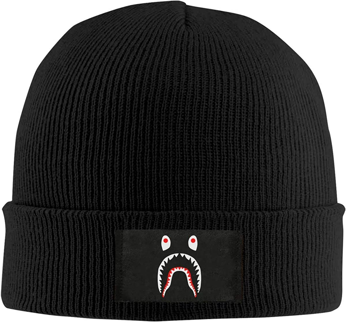 PatriciaANewbury BAPE Winter Warm Men Women Knitted Hat Stretch Slouchy Skull Cap